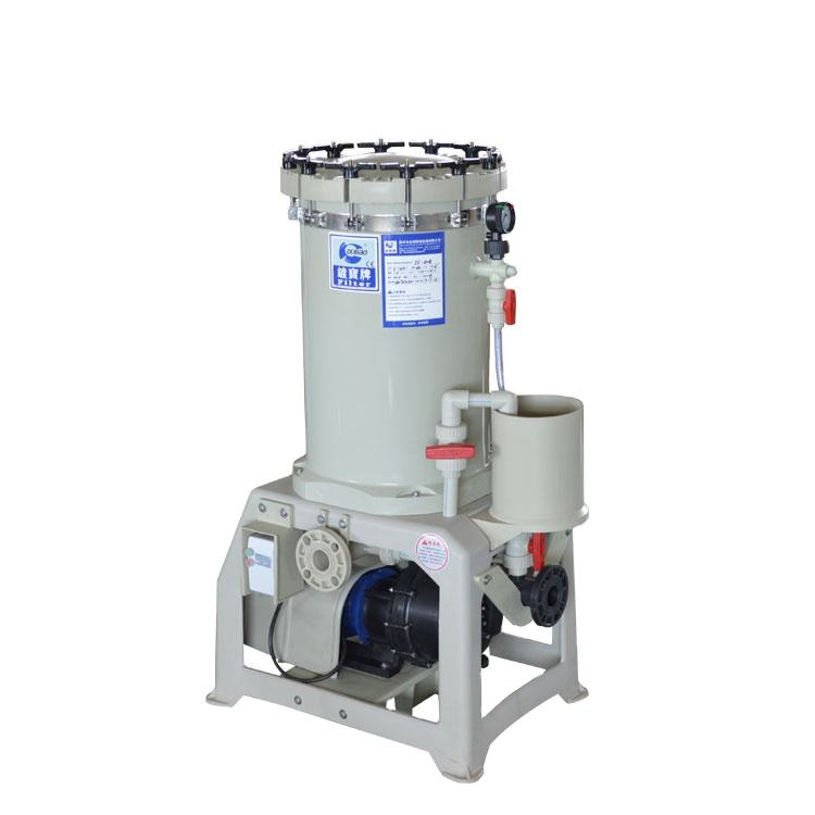 Industries chemical liquid filer used in acid/alkali water for electroplating factory