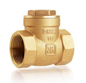 JKL China Factory Brass Swing Check Valve 1/2 Inch Brass Check Valve