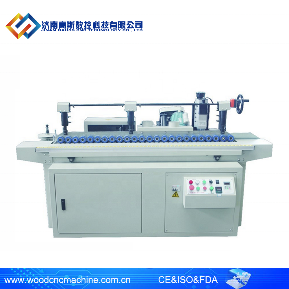 High efficiency edge hot foil stamping machine price / edge polishing and gilding machine for wooden on sale