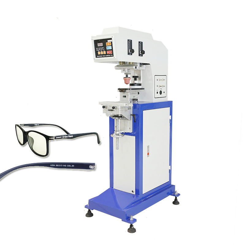 Single color sealed ink 컵 sunglass printing machine/glasses printing machine/sunglass arm leg pad printer