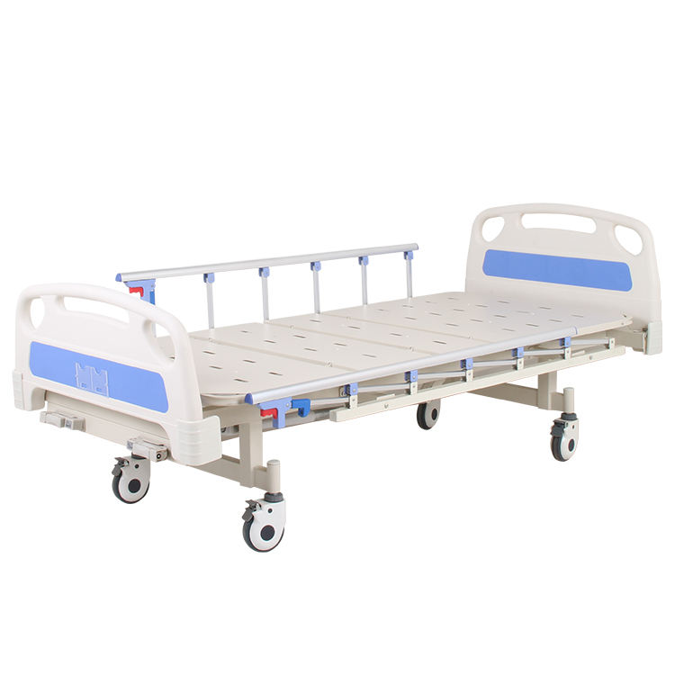 china clinic furniture patient hand control 2 cranks manual hospital bed