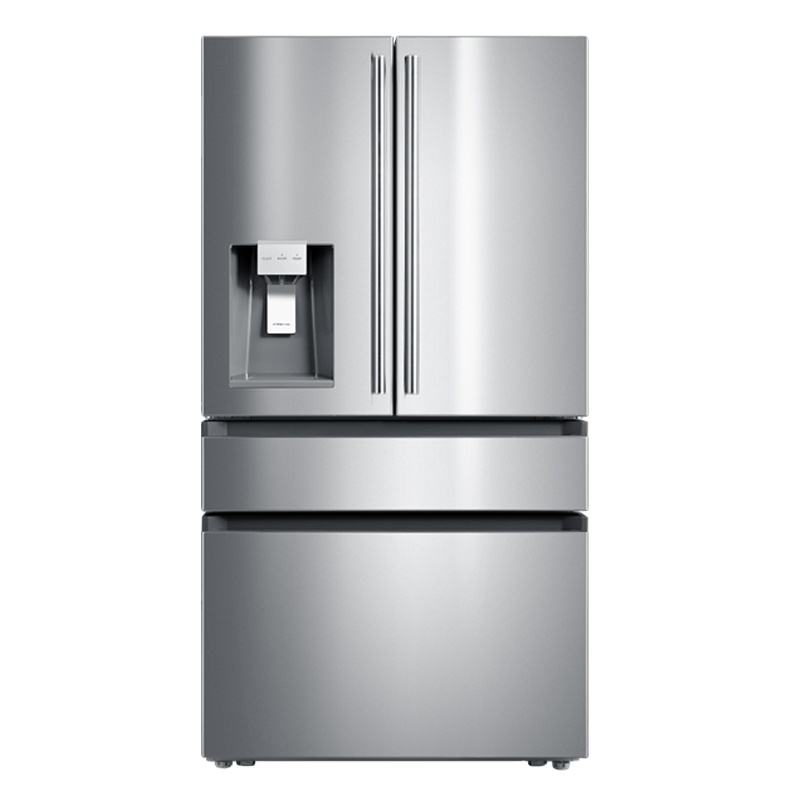 Big Capacity Home and Hotel Use Frost Free Side By Side French Door Refrigerators