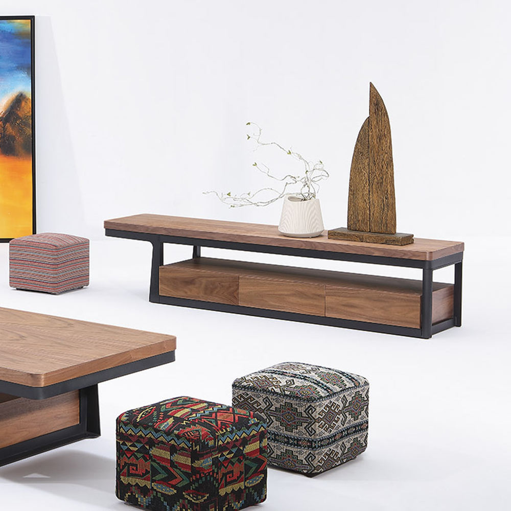 living room wooden cabinet tv Furniture stand modern