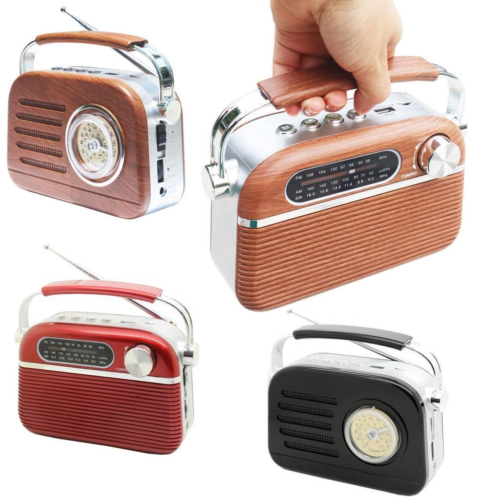 BSCI Manufacture low price portable retro multiband cheap radio