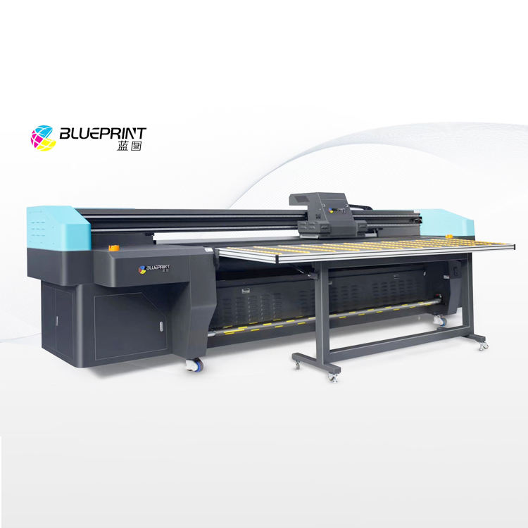 Precision Wallpaper Hybrid UV Flatbed and roll to roll printer