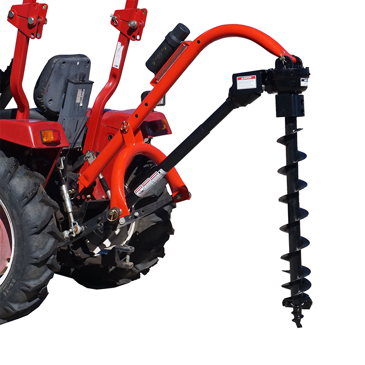 China Tractor drilling machine Mounted Gas Powered Earth Auger Tractor Hydraulic Post Soil Hole Digger