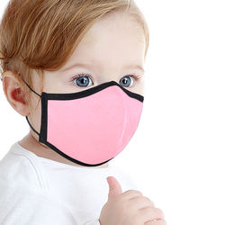Wholesale Cute cotton Reusable facemask Blanks Kids