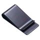 Red Green Blue Gold Silver Color Carbon Fiber Wallet Money Clip and business Credit card holder