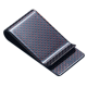 Red Green Blue Gold Silver Color Carbon Fiber Wallet Money Clip and business Credit card holder