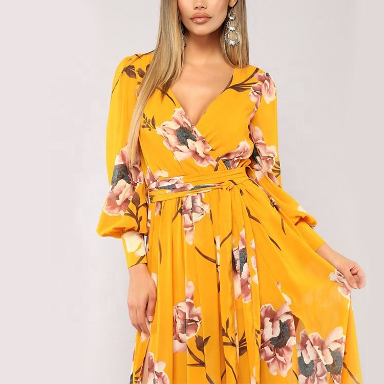 Clothes Latest Fashion sexy long maxi dresses long sleeve women modest