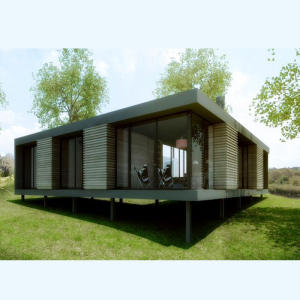 Deepblue Smarthouse wholesale light steel kits set prefab modern luxury house villa