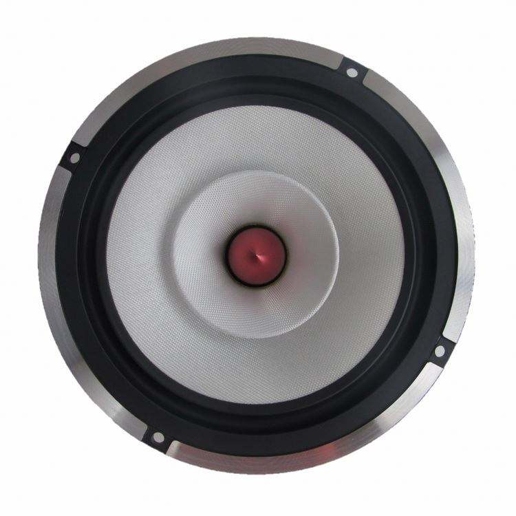 Best Price OEM Factory Car White Speaker 6.5 Inch Mid Speaker With Bullet Treble Cup kicker big subwoofer active amplifier board