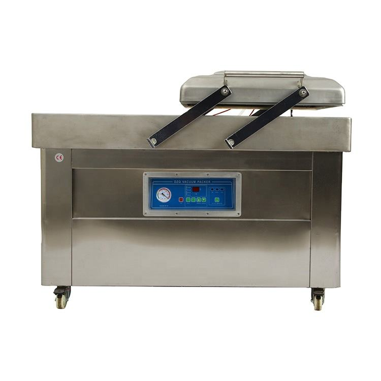 XK-500 Automatic table double chambers Vacuum packing machine for food/fruit /vegetables