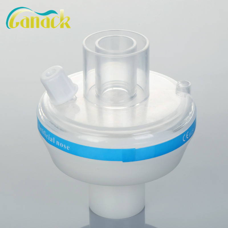 disposable bacterial filter tracheostomy hme filter