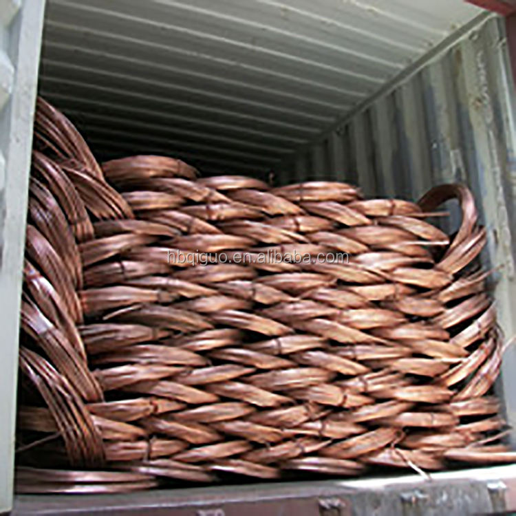 99.98% to 99.99% Purity Mill berry copper Wire Scrap with Mass production