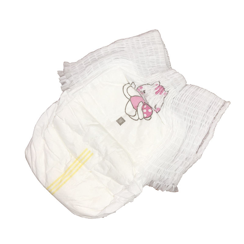 Baby Napkin Diapers Customised Factory Cheap Disposable Baby Pant Diaper for Sri-Lanka Africa