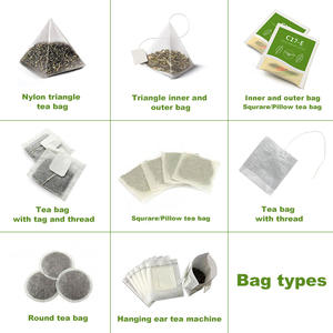 Small Sachets Double Layers Herb Tea Packaging Machinery With Inner Outer Bag
