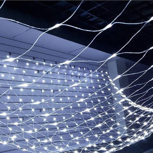 Outdoor Waterproof Decorative Wedding Party 1.5*1.5m Net Light 96LED