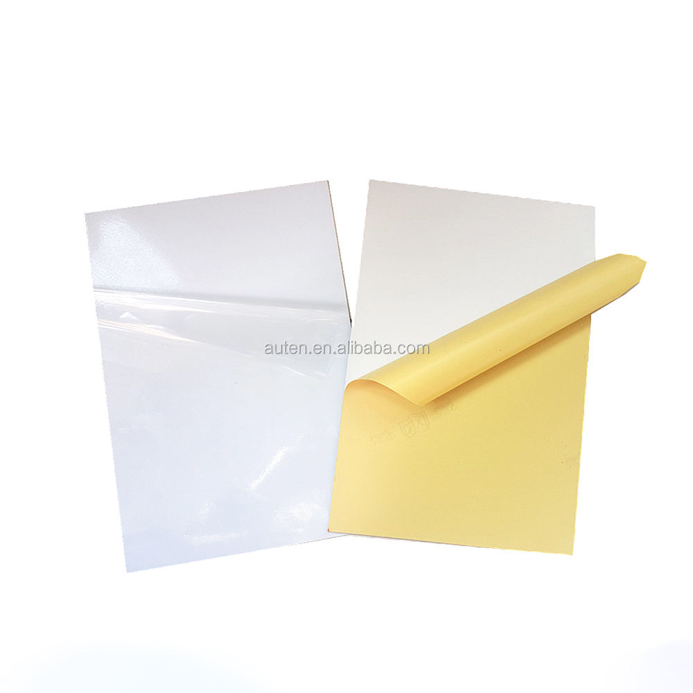adhesive pvc sheet material to make photo album (White & Black)