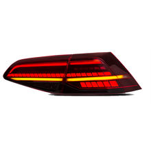 Led Rear Light For VW Golf 7 7.5 Led Taillight Dark Red