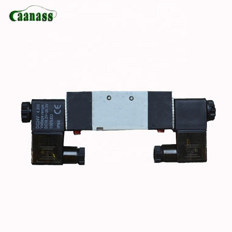 Universal good quality and hot sale auto parts bus plastic 4V220-06 Higer bus KLQ6129 door pump solenoid valve