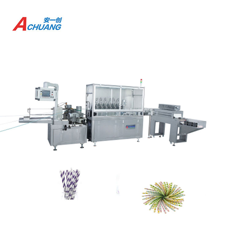 Popular Widely Used Multi-blades Paper Products Paper Straw Machine