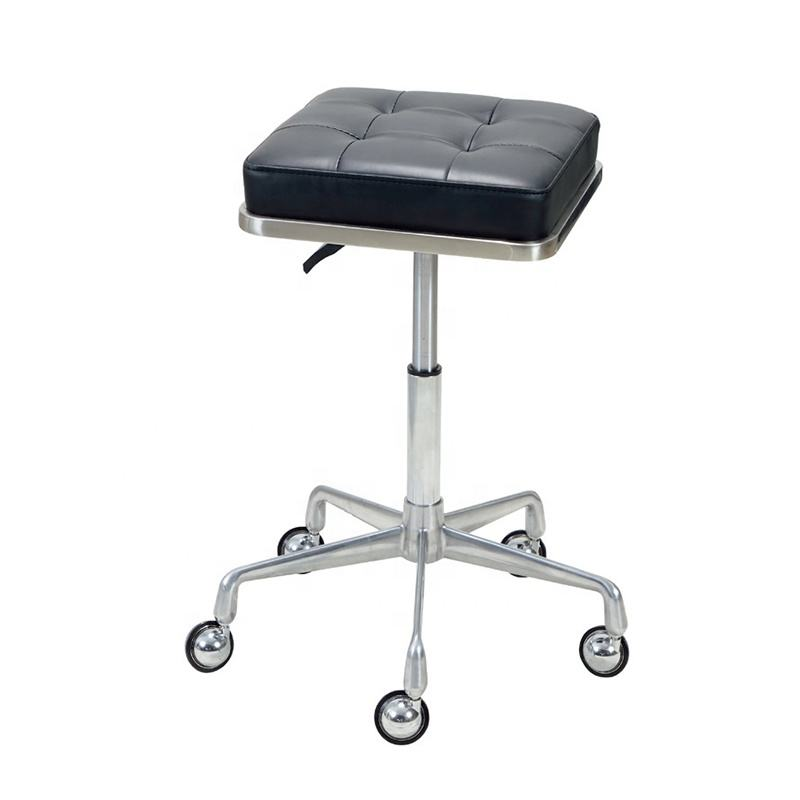 Yoocell Cheap high quality barber lab chairs salon furniture barber stools metal bar stool high chair