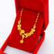 Imitation Jewellery Jewelry 2020 Gold Plated Imitation Jewellery 24k Gold Jewelry Hot Sale New Design Dubai Women's Fashion Chain Necklaces /