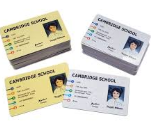 Wholesale Blank ID Number Printing 125KHz White Card school id card
