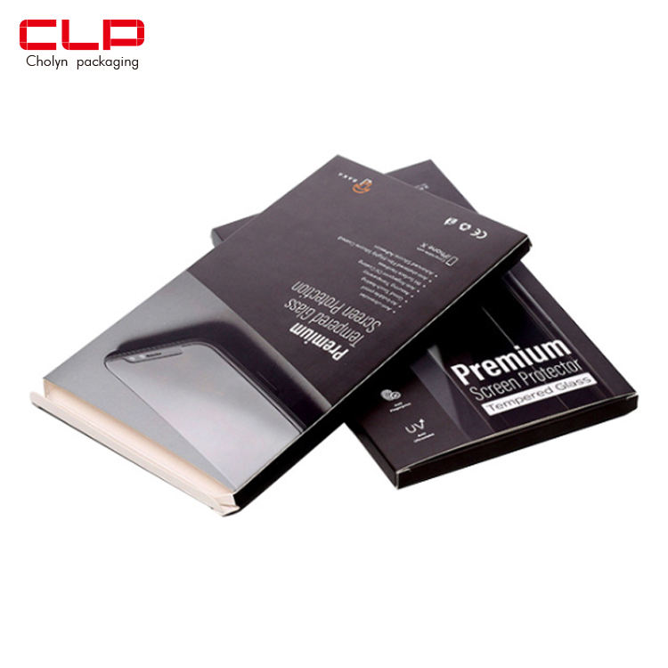 CLP Cholyn Custom Paper Packaging Boxes for Cellphone Screen Protector