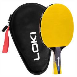 LOKI Cheap Price High quality table tennis racket table tennis bat with case