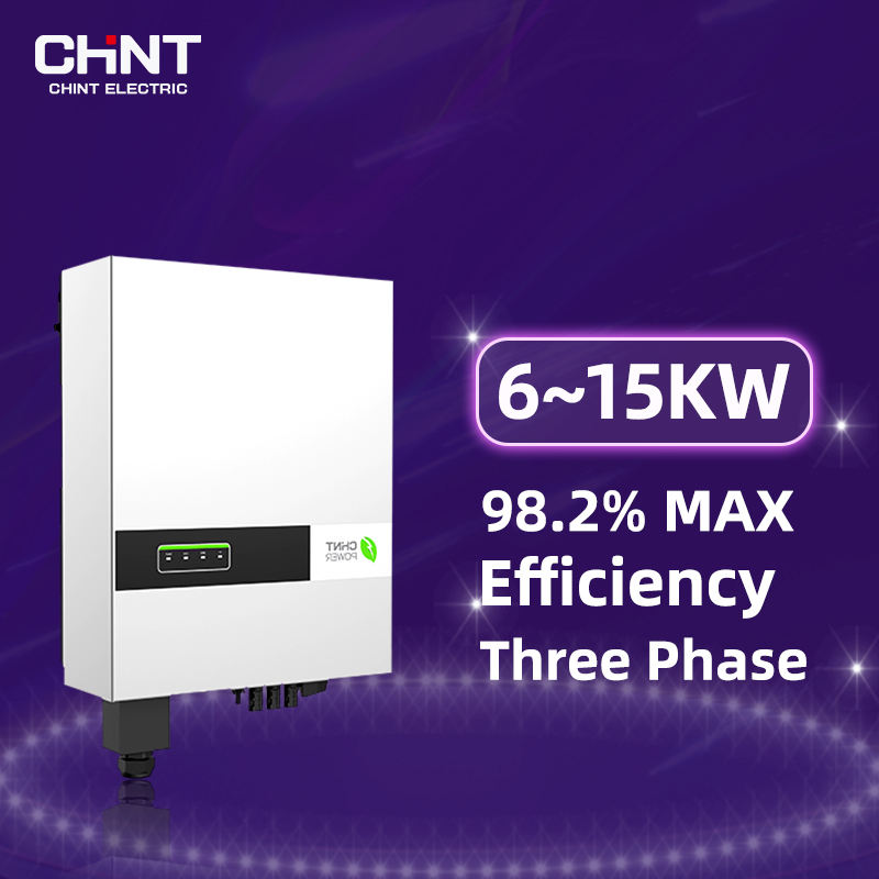 Chint Astronergy 6~15Kw China Micro Inverter Solar Inverter Without Battery Ongrid Solar Inverter Inverters Ups Suoer Inverter