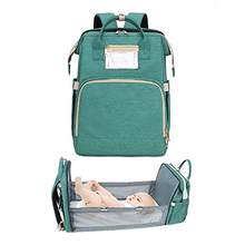 High quality direct factory travel bassinet diaper bag 3 in 1 portable changing station baby diaper bag bed