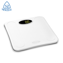 Tempered Glass 180Kg 396Lb Waterproof Bathroom Body Weight Digital Electronic Weighing Scale