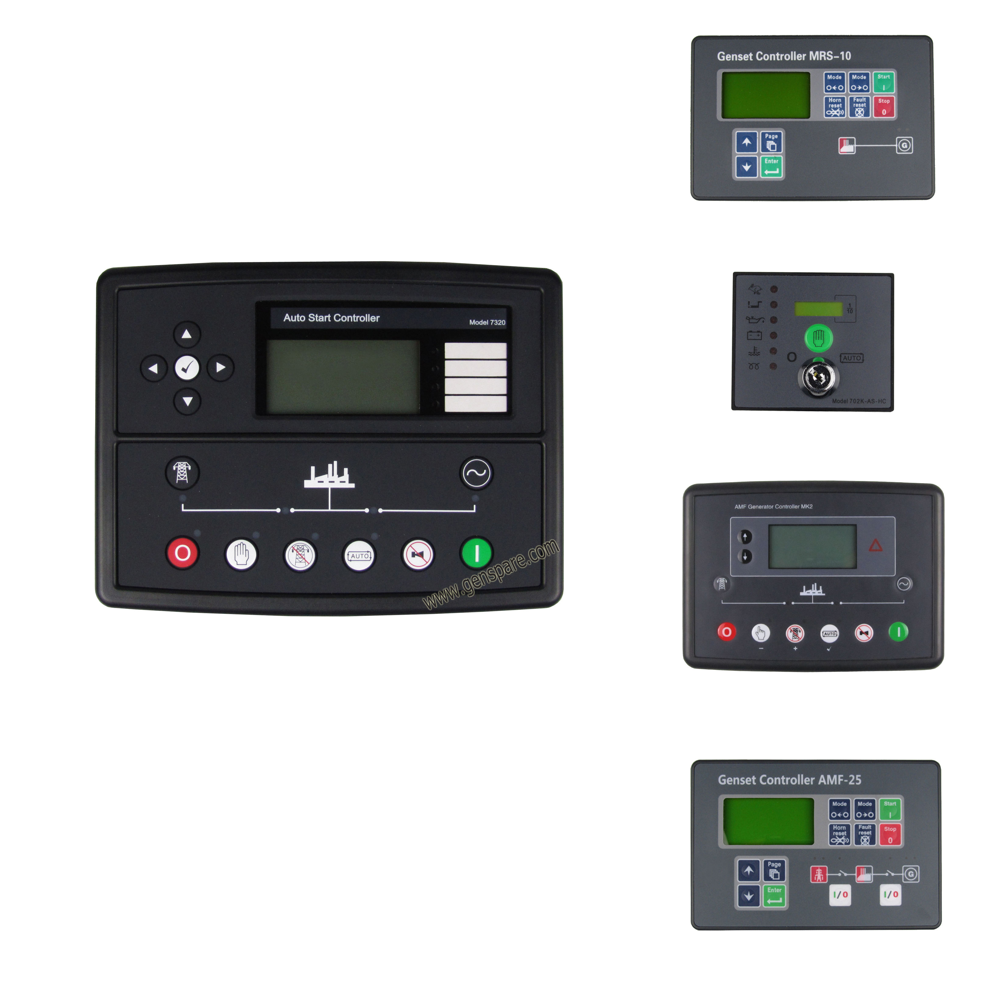 YOKDEN DSE705 Generator//Engine Controller Manual//Auto Remote Start Control Module Panel Unit with ATS Complete Replacement for Deep Sea 705