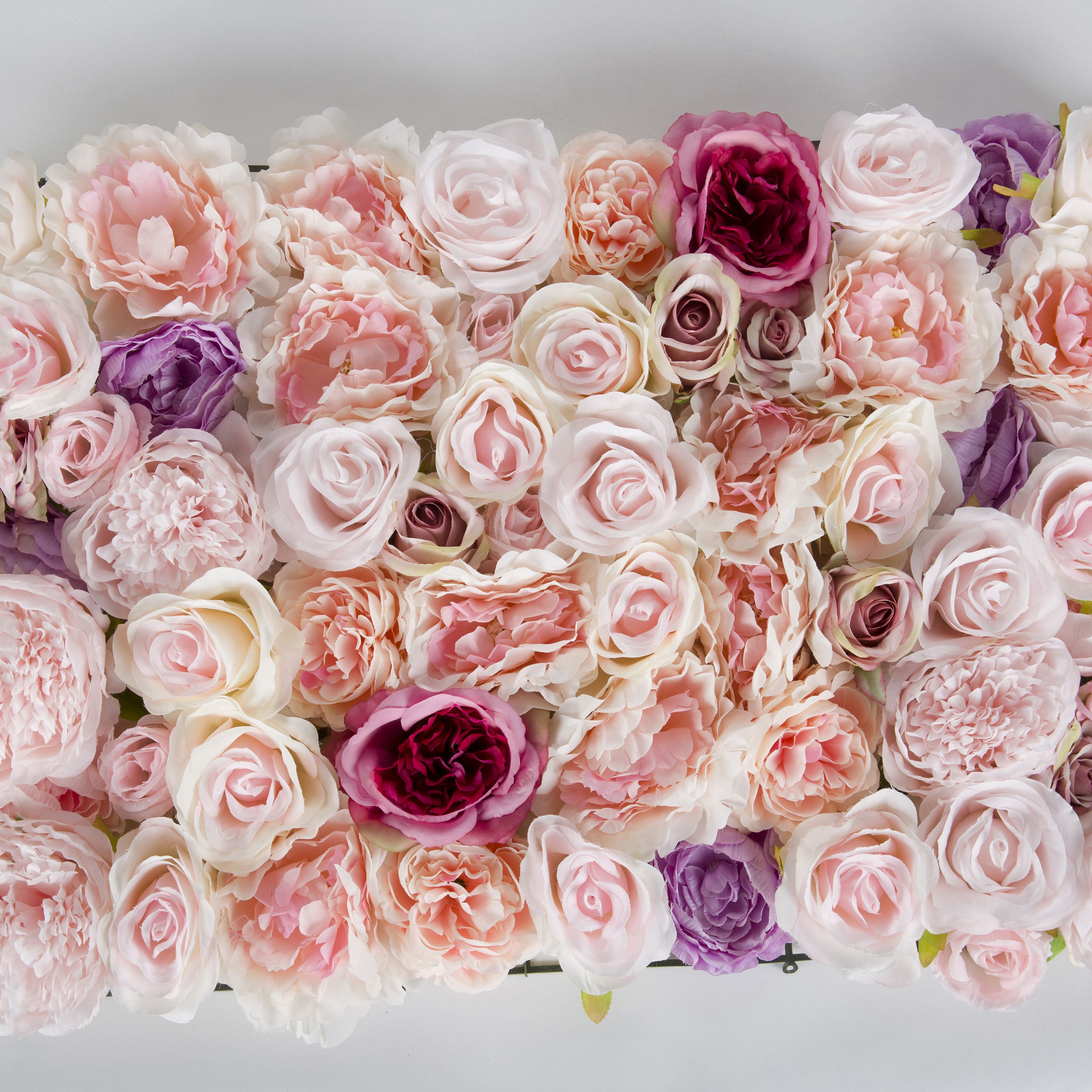 A Low Price Home Wedding Decoration Rose Flower Wall