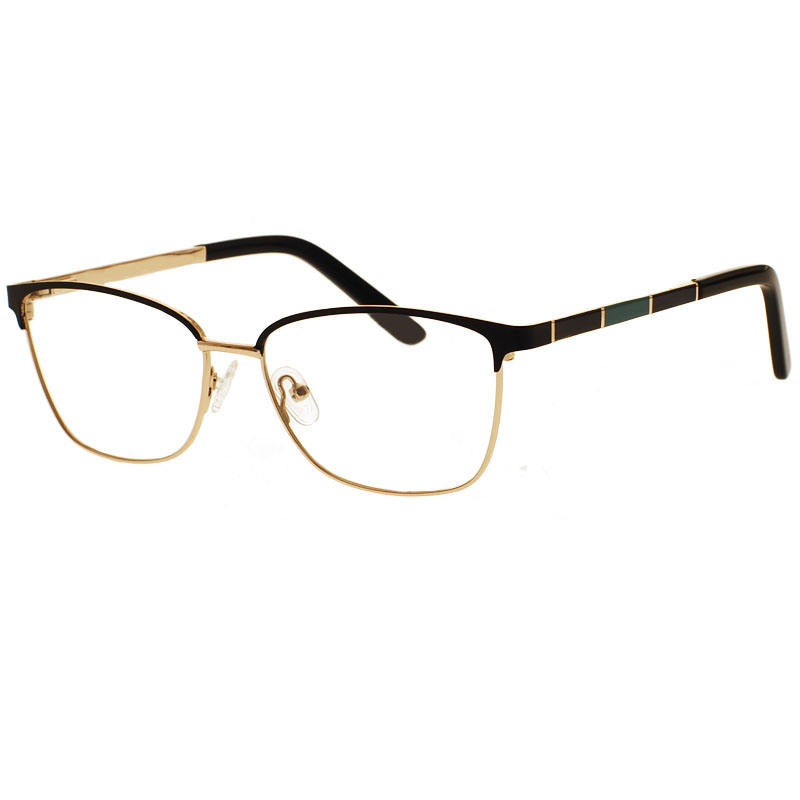 New style High Quality Metal Frame Myopia women men Optical Glasses spectacle frame designer temple eyewear