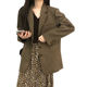 Spring And Autumn Korean 2020 New Loose Mid-Length Long-Sleeved Casual Blazers Women