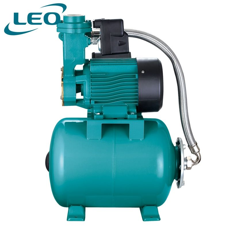 LEO 1.1Kw 1.5Hp Self-Priming Peripheral Pumps With Air Tank