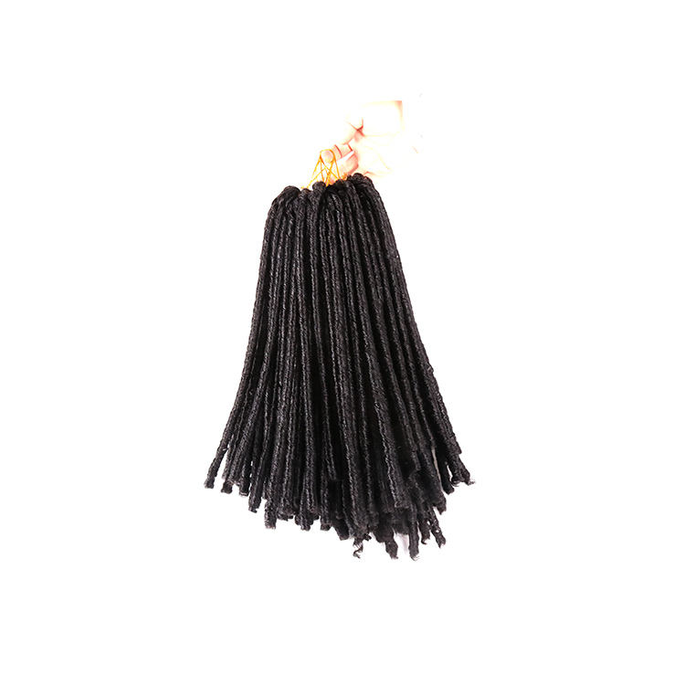 Synthetische <span class=keywords><strong>Kanekalon</strong></span> Crochet Hair Weave Braid Soft Dread Lock Extensions