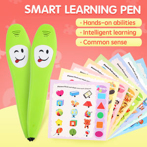 Amazon Ebay Lazada Kids Educational Talking Pen OEM Baby Toys Educational