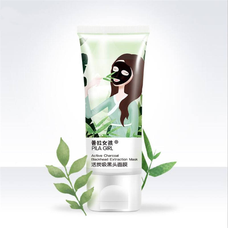 2021 New Item Facial Skin Cleaning Hydrating Active Charcoal Extract Face Nose Blackhead Clean Mask