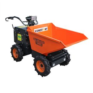 Electric Battery Power Barrow Mini Dumper KT-MD300EN with 4WD Easy Turning