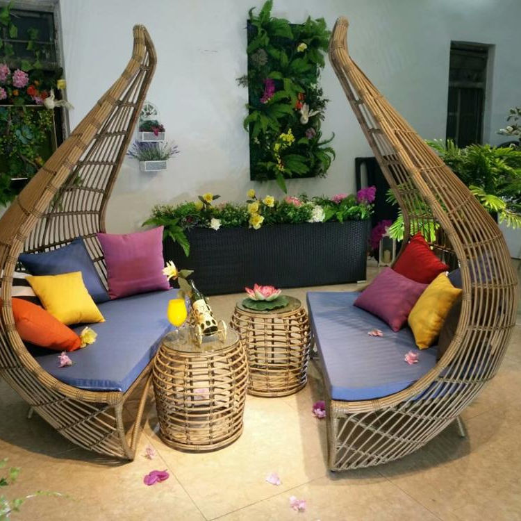 outdoor furniture modular sofa sets Pool Lounger Chairs Used Outdoor Hotel Furniture Sales L Shaped