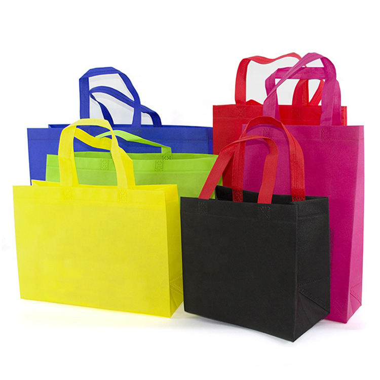 Ecological eco-friendly customized nonwoven grocery bag