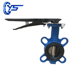 D71X PN10/16 EPDM Sealing Center Line Butterfly Valve For Water
