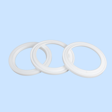 High temperature white flat thick seal plastic ptfe thin washer gasket