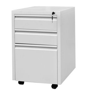 Office Furniture Metal Steel Modern White Filling Custom Storage Drawer Cabinet With Wheels