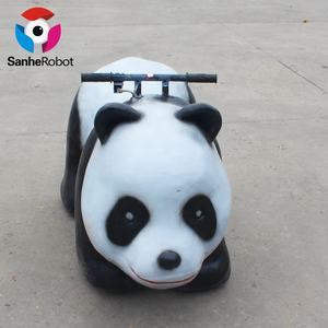Hot sale kis car cute panda scooter electric zoo animal ride for kiddie