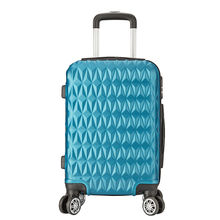 Manufacture Price Kid's Printed Luggage Upright Draw-bar Box Travelling Bag ABS PC Luggage Trolley Bags